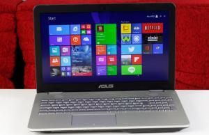 Asus N551 / N551JK review - a revised 15 inch multimedia laptop