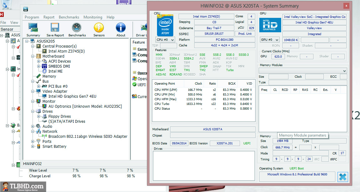 Asus EeeBook X205TA / X205 review - the modern $199 laptop
