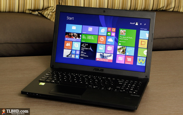 This is the Asus PU551JA - a 15.6 inch full-size business laptop