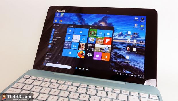 This is the new 10-inch Asus Transformer Book T100HA