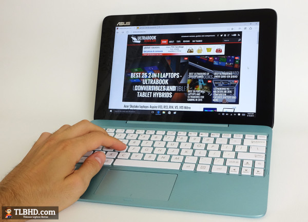 The Asus T100HA is one of the better 10-inch affordable tablets out there